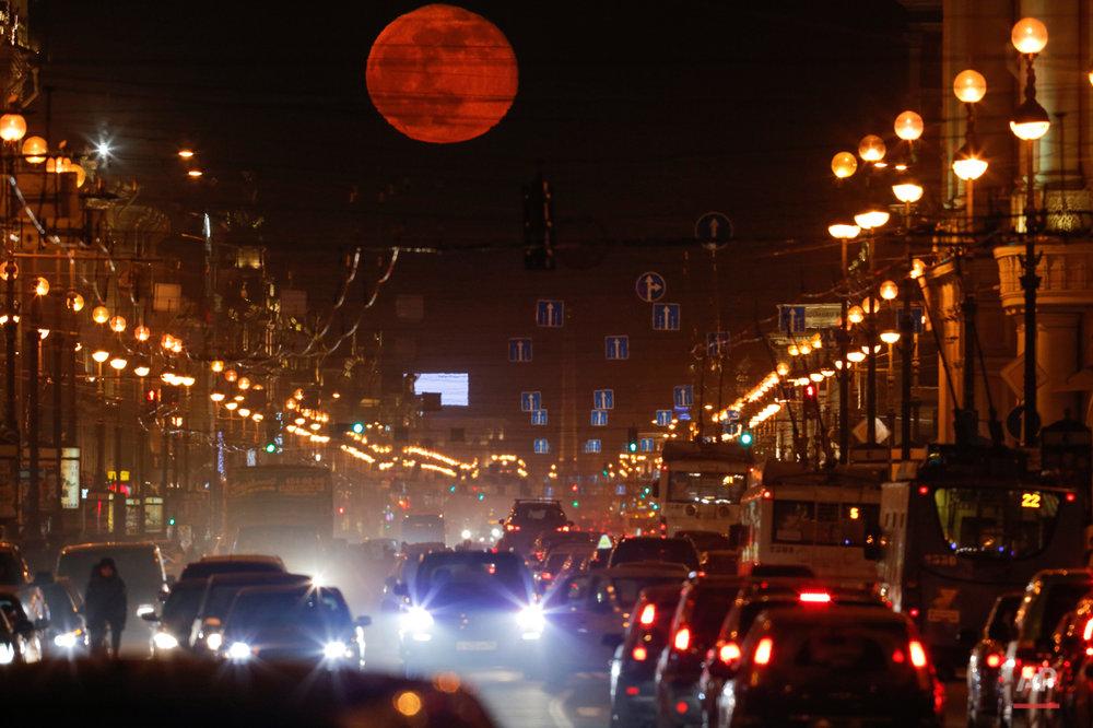 Russia Moon