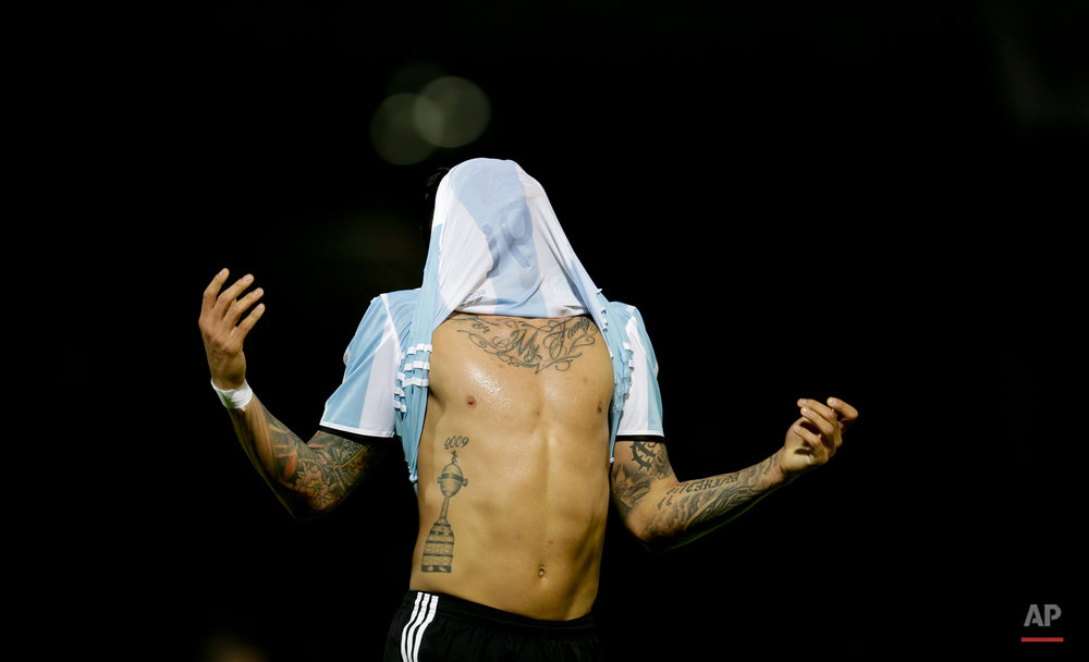 Argentina Bolivia Soccer WCup