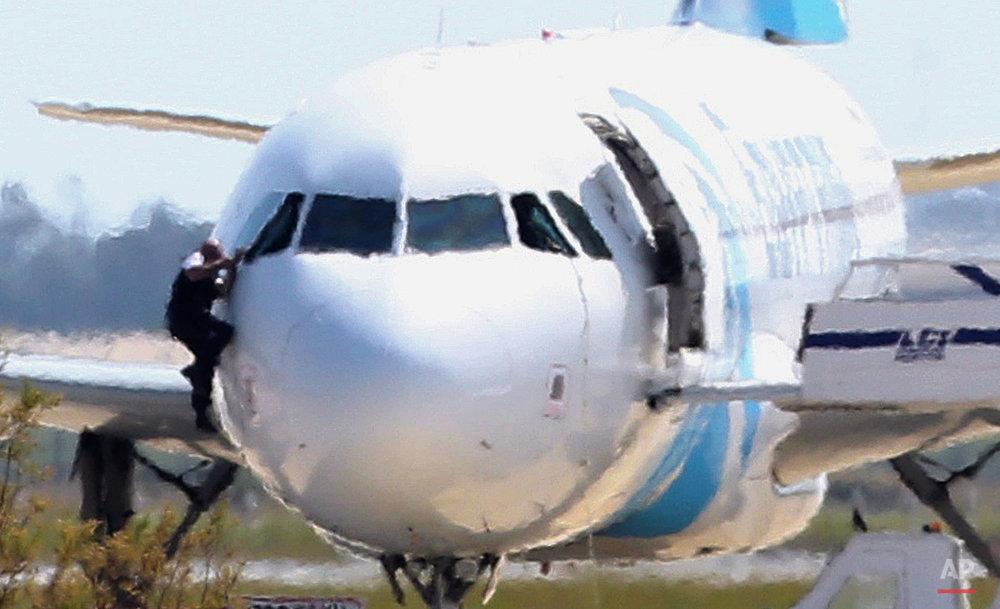 Cyprus Hijacked Plane