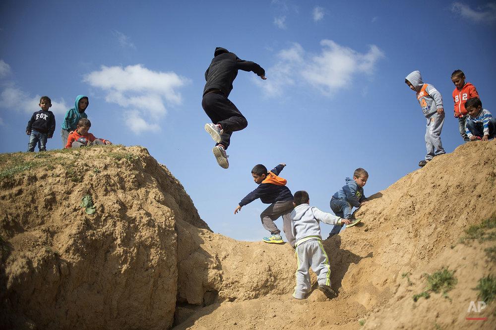 Mideast Israel Land Day