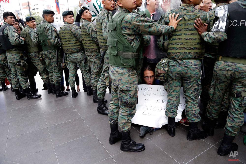 Ecuador Protest