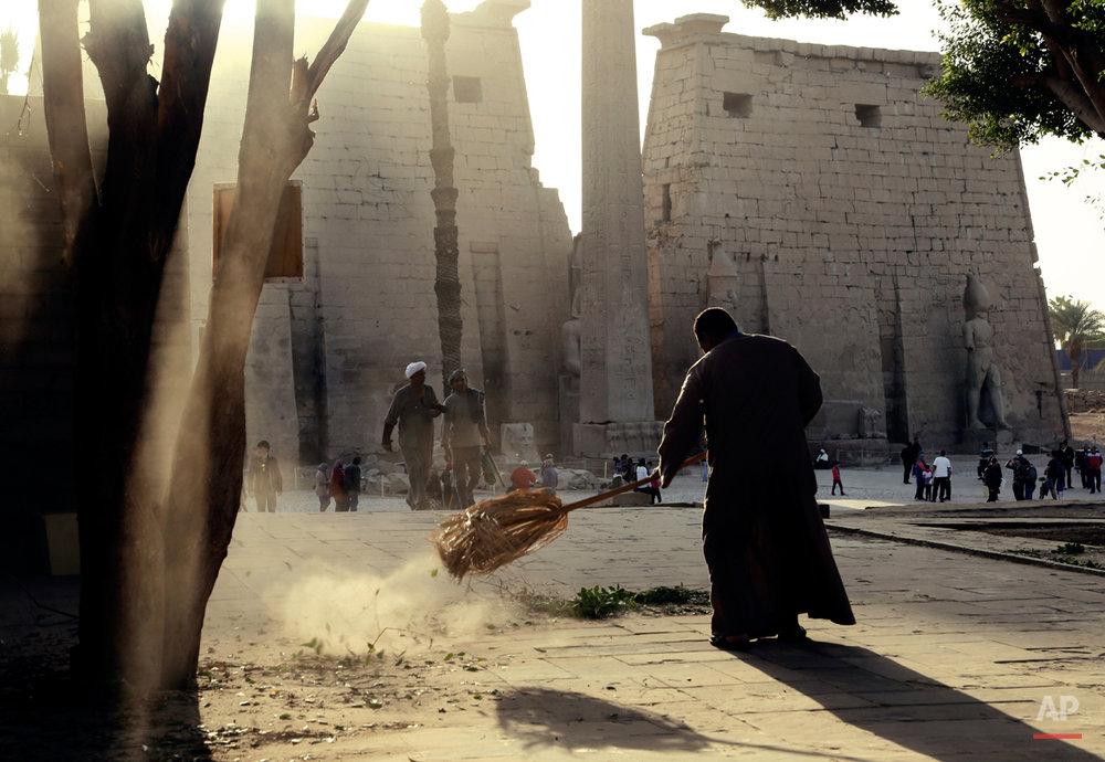 APTOPIX Mideast Egypt China