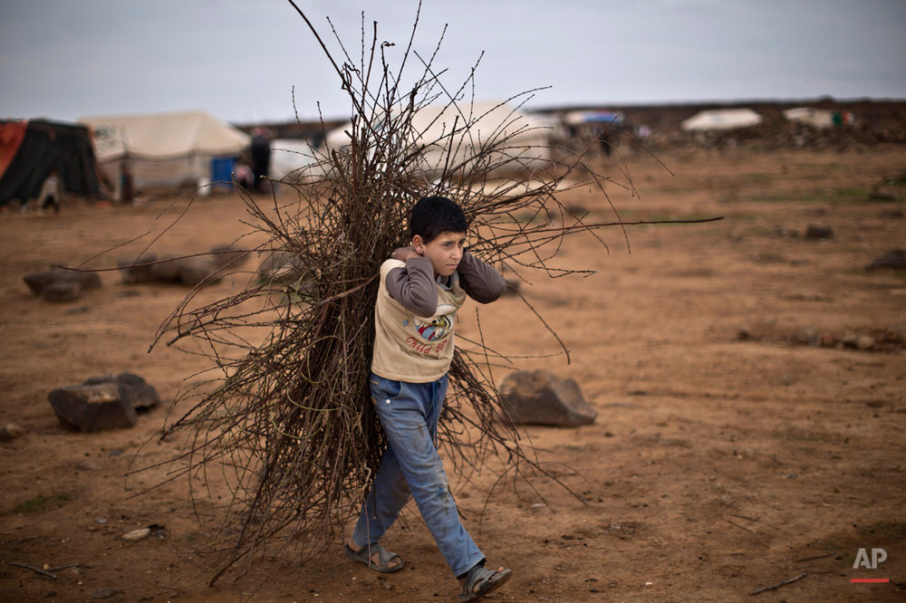 APTOPIX Mideast Jordan Syrian Refugees Daily Life