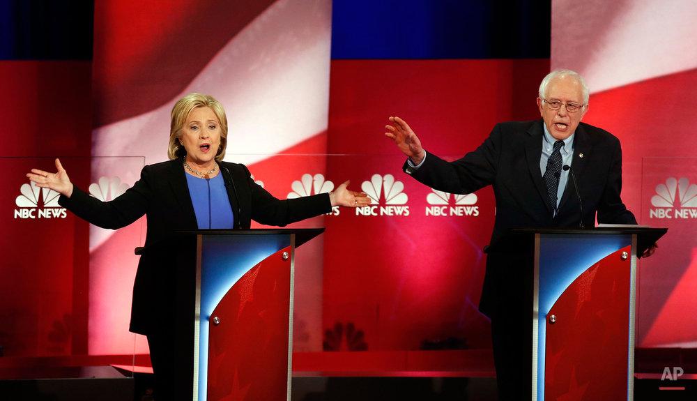 APTOPIX Dem 2016 Debate