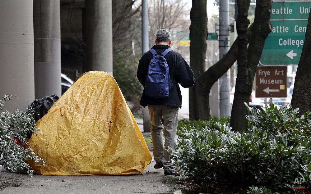 Seattle Homeless Photo Essay