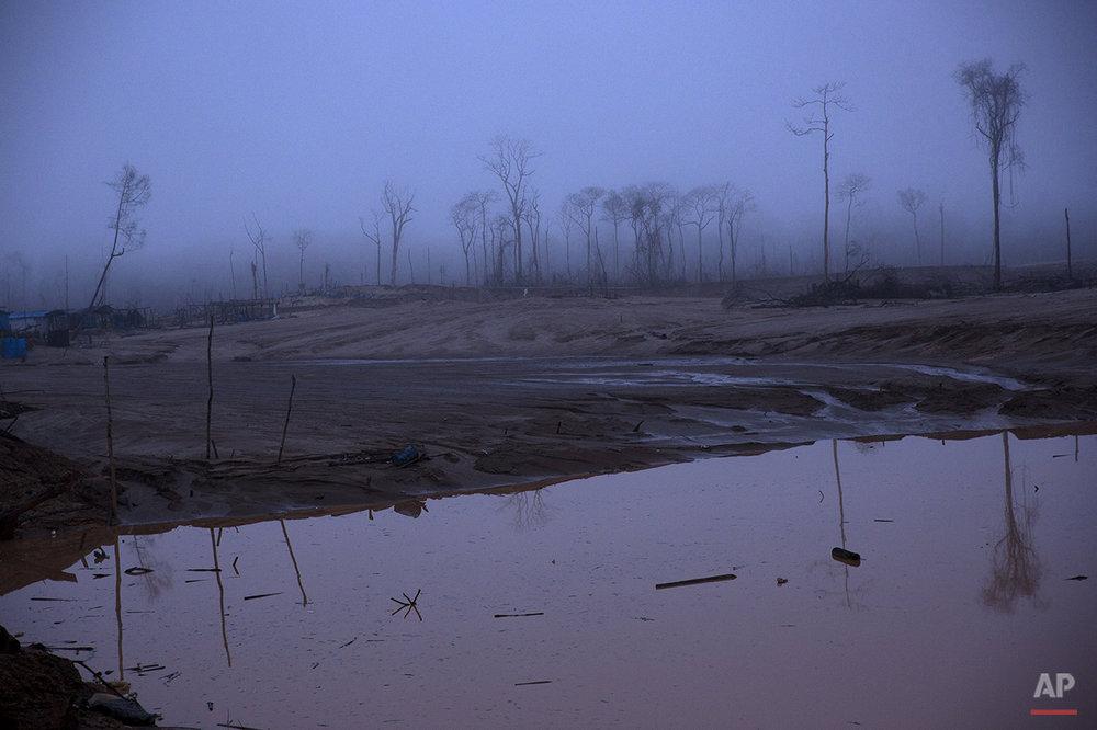 APTOPIX Peru Illegal Mining Photo Gallery
