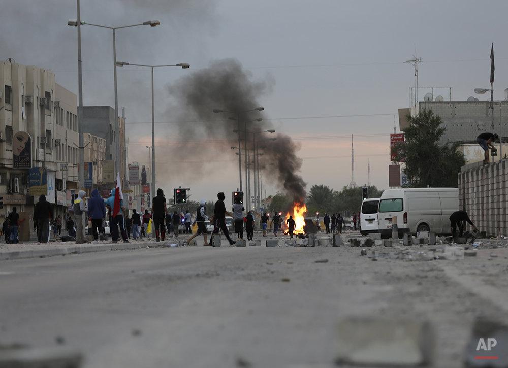 Mideast Bahrein Saudi Arabia