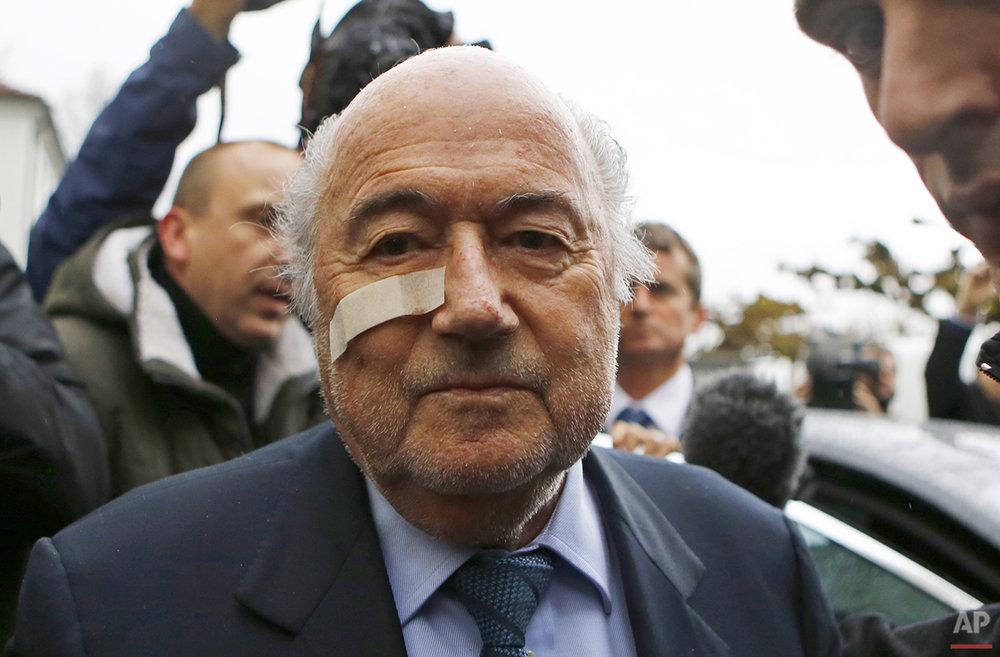APTOPIX Switzerland Soccer FIFA Blatter