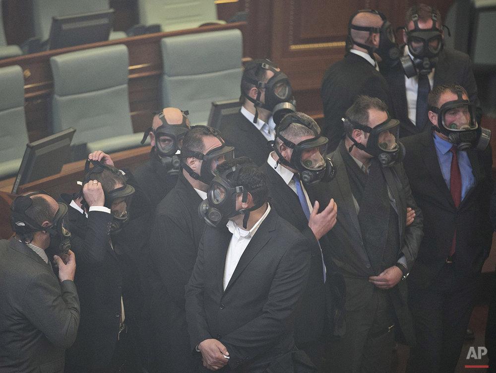 APTOPIX Kosovo Politics
