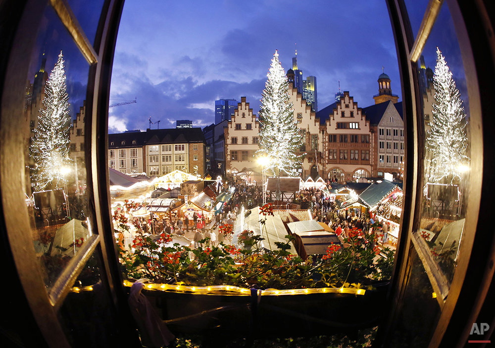 APTOPIX Germany Christmas Market