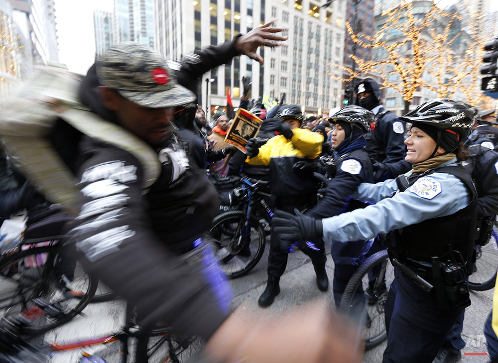 APTOPIX Chicago Police
