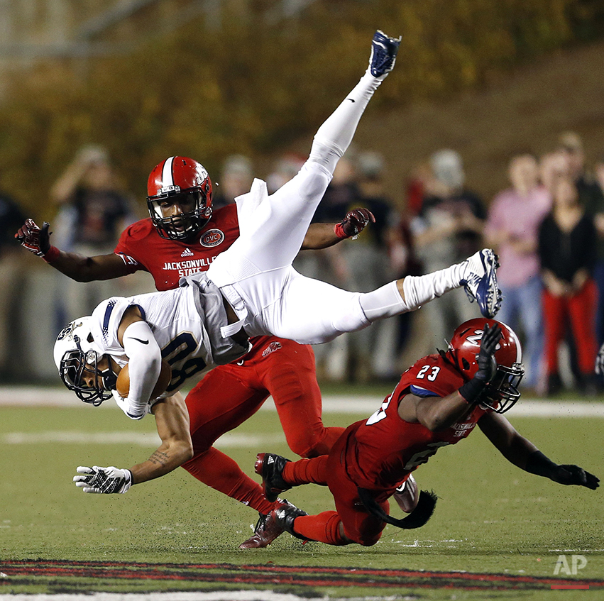 APTOPIX Charleston Southern Jacksonville St Football