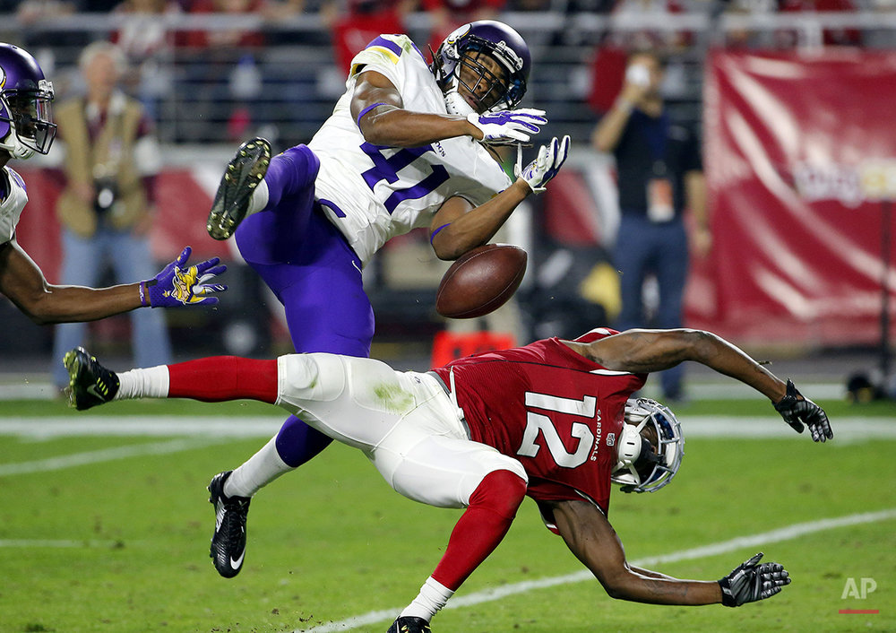 APTOPIX Vikings Cardinals Football