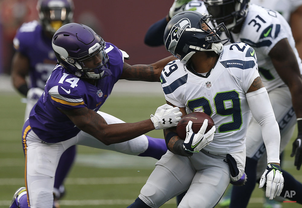 APTOPIX Seahawks Vikings Football