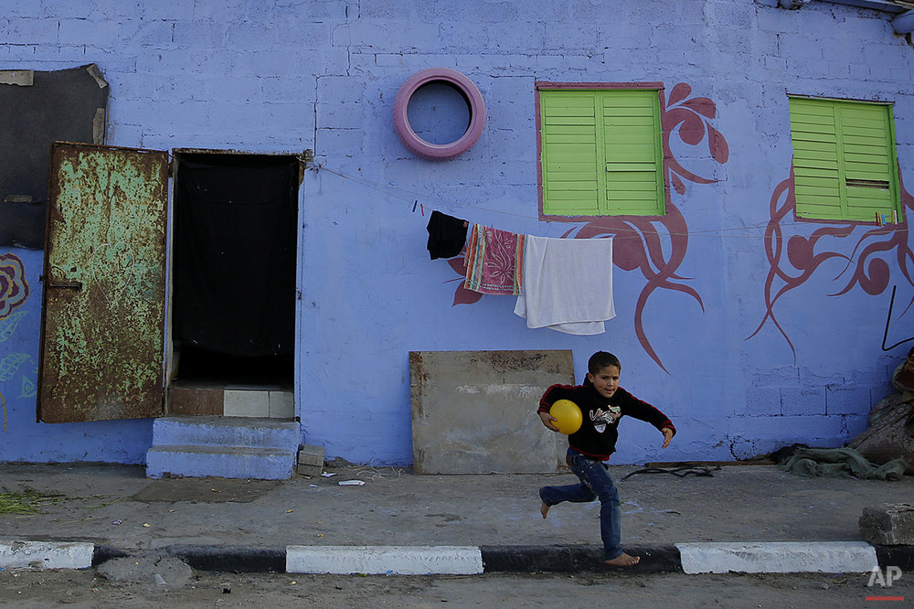 Mideast Colorful Gaza Photo Gallery