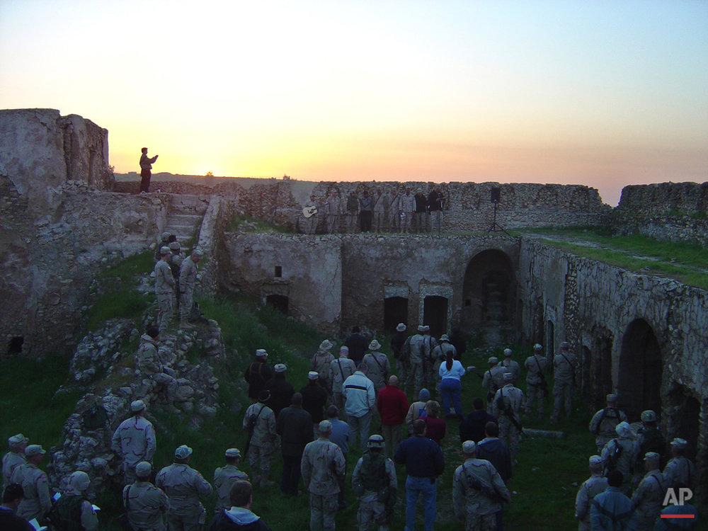 Iraq Monastery Destroyed