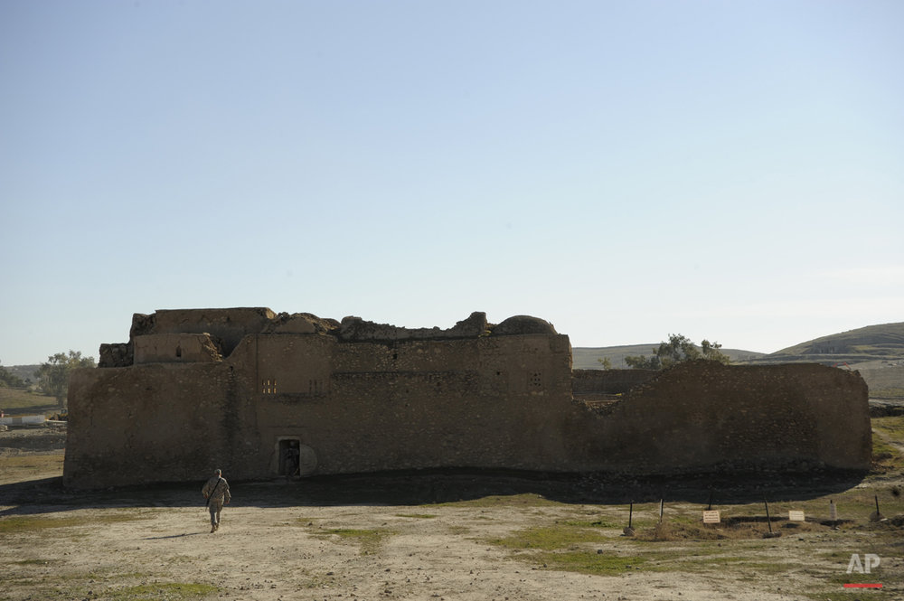 Mideast Iraq Monastery Destroyed