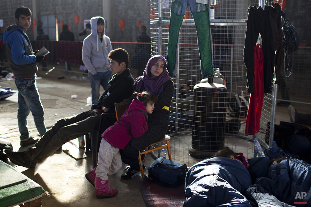 Greece Migrants Winter Crossing