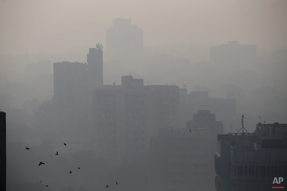India Struggling to Breathe