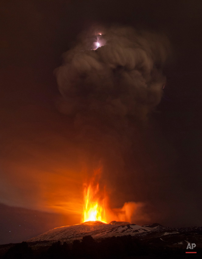 Pictures Of The Week Photo Gallery Italy Etna Eruption