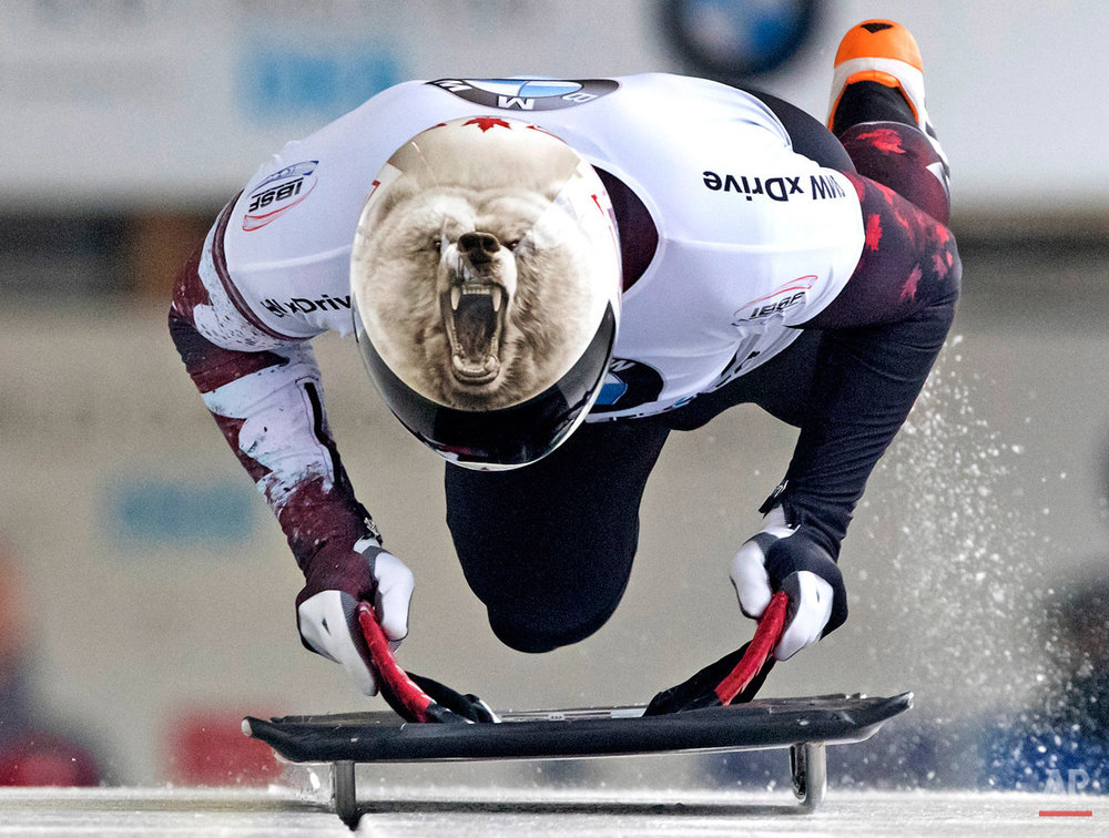 APTOPIX Germany Skeleton World Cup