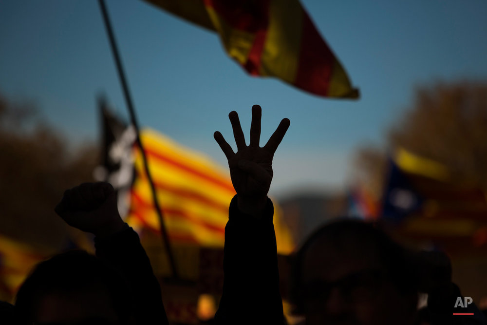 APTOPIX Spain Catalonia Independece