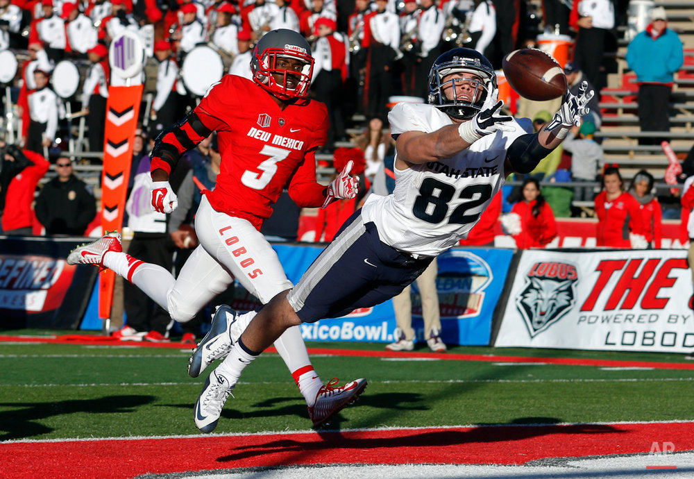 APTOPIX Utah St New Mexico Football