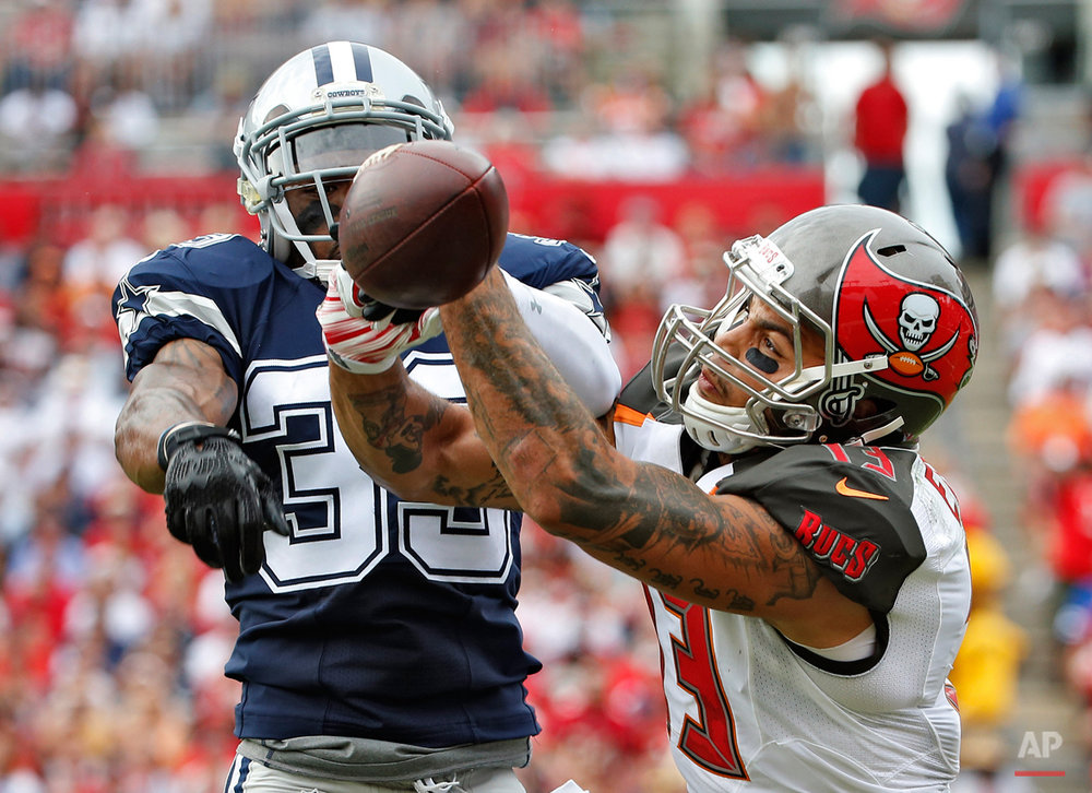 APTOPIX Cowboys Buccaneers Football
