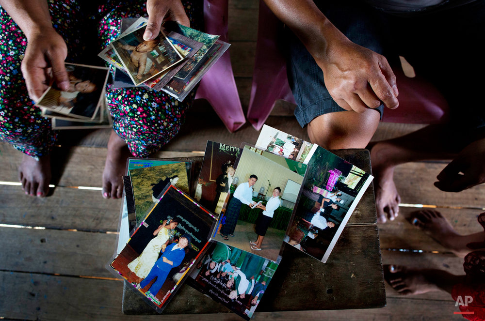 Myanmar A Father Loss