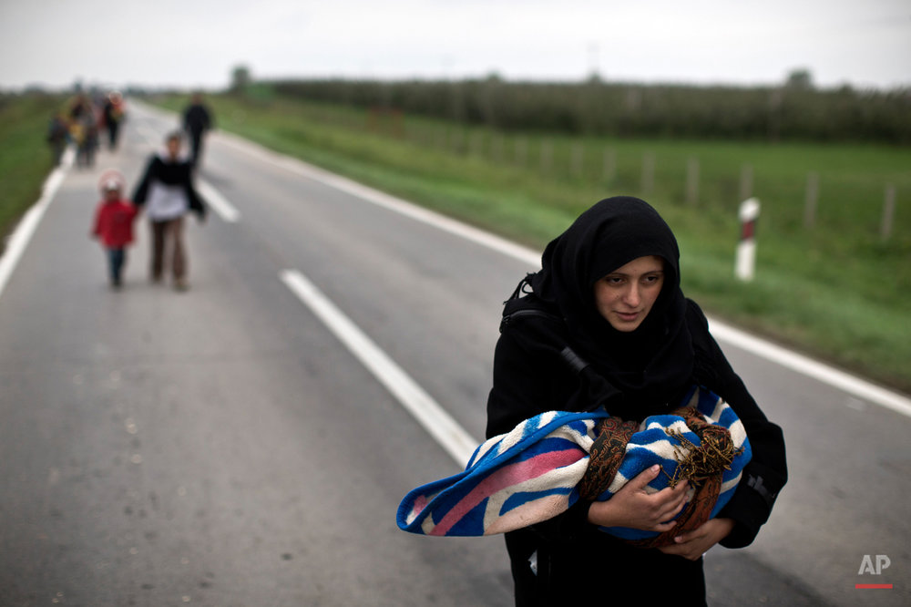 APTOPIX Croatia Migrants