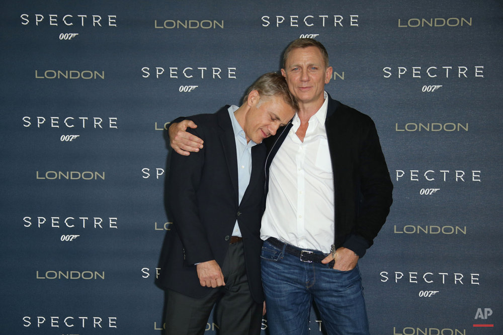 APTOPIX Britain Spectre Photocall