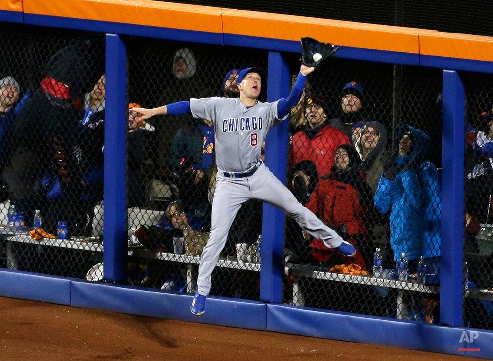APTOPIX NLCS Cubs Mets Baseball