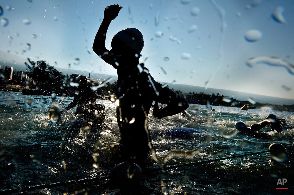 APTOPIX Ironman World Championship Triathlon