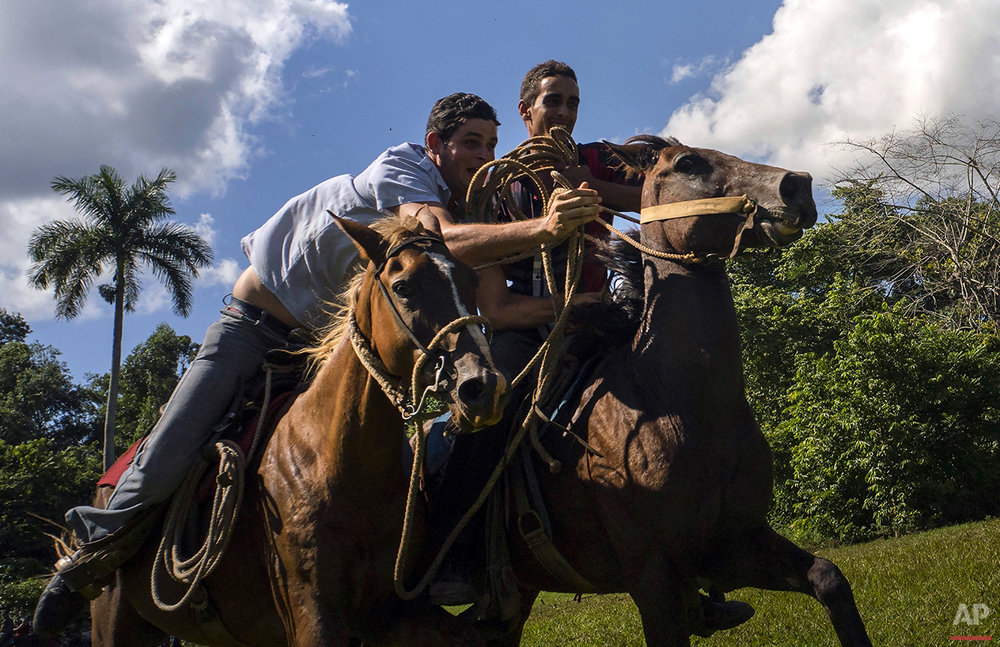 APTOPIX Cuba Countryside Games Photo Gallery