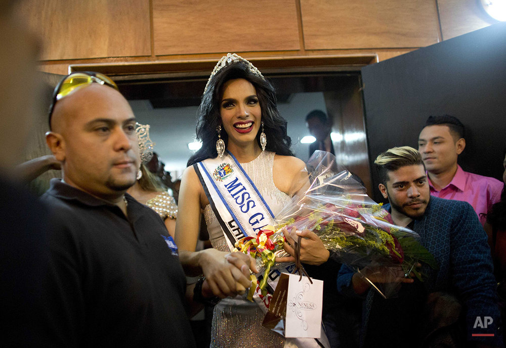APTOPIX Venezuela Miss Gay Photo Gallery