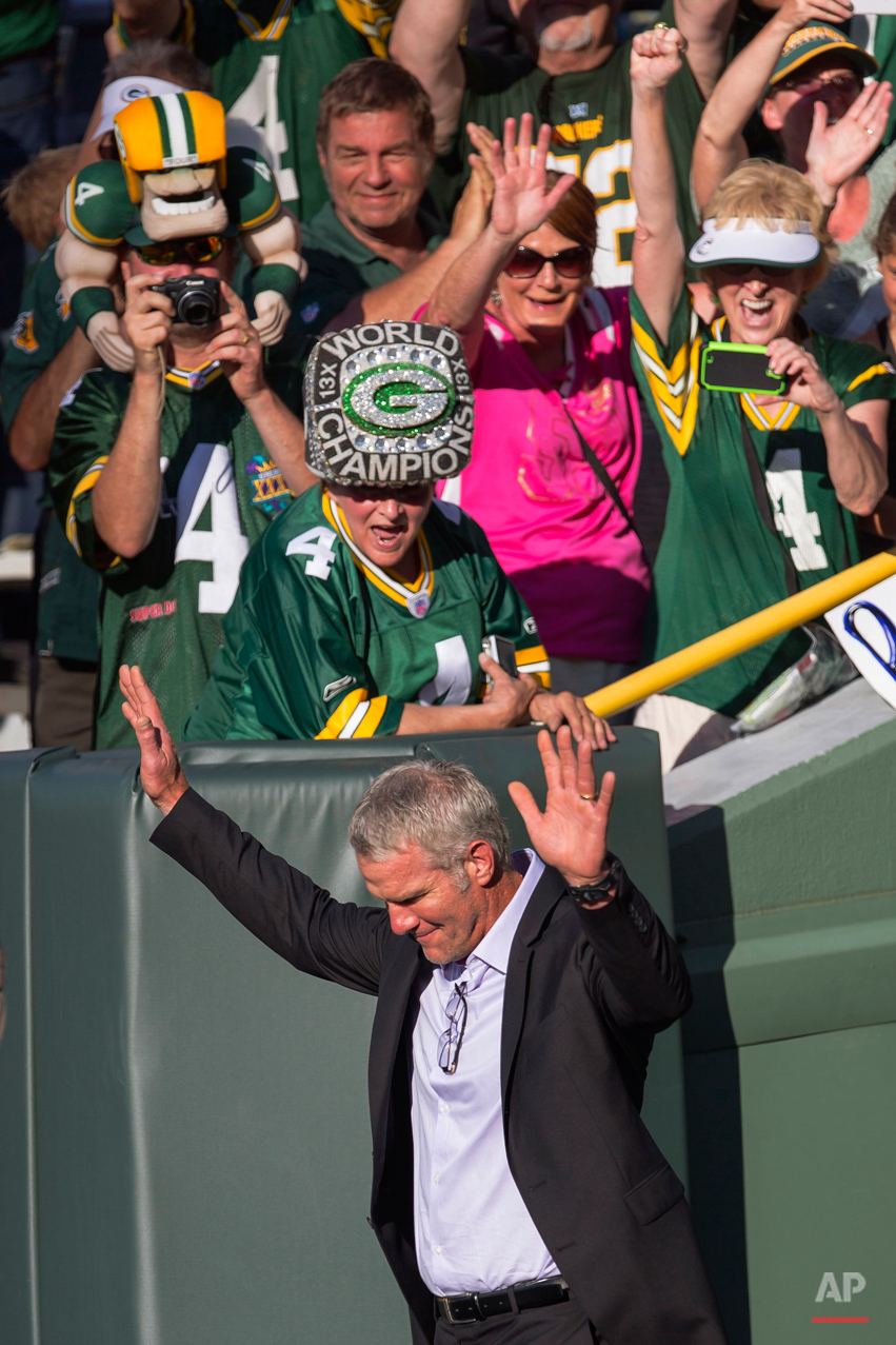 APTOPIX Packers Favre Football