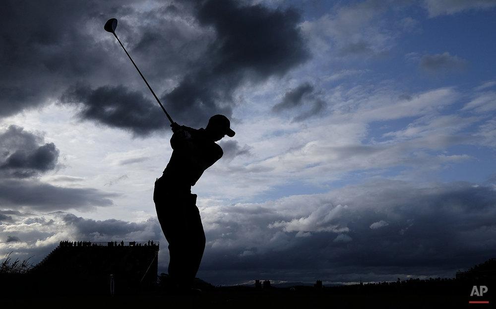 APTOPIX Britain Open Golf