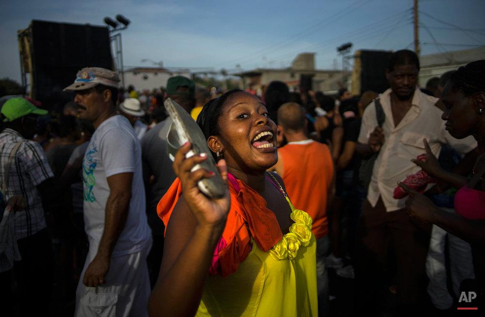 APTOPIX Cuba Tourism Blues
