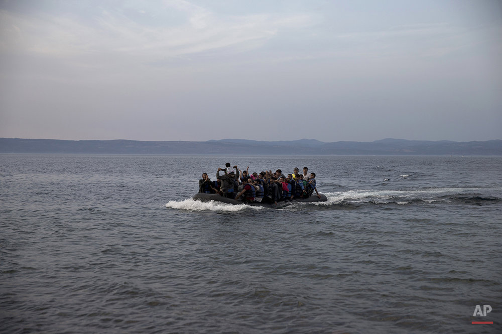 Migrants Arriving in Europe Photo Gallery