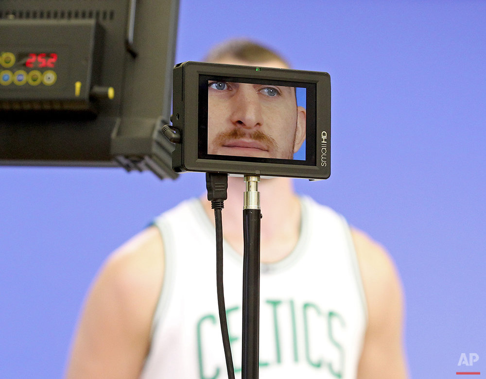 Celtics Media Day Basketball