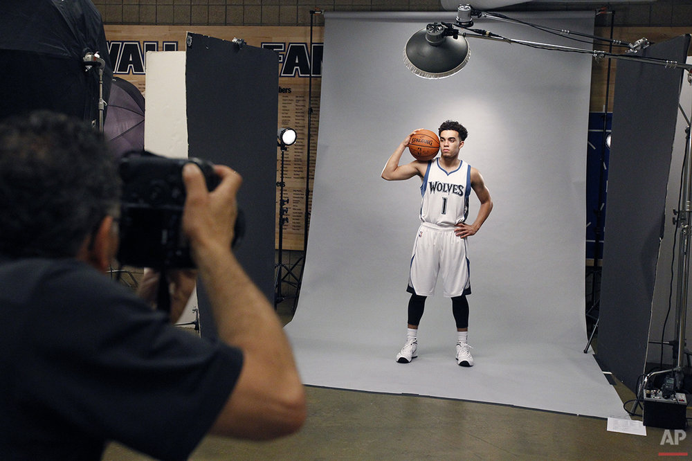 Timberwolves Media Day Basketball
