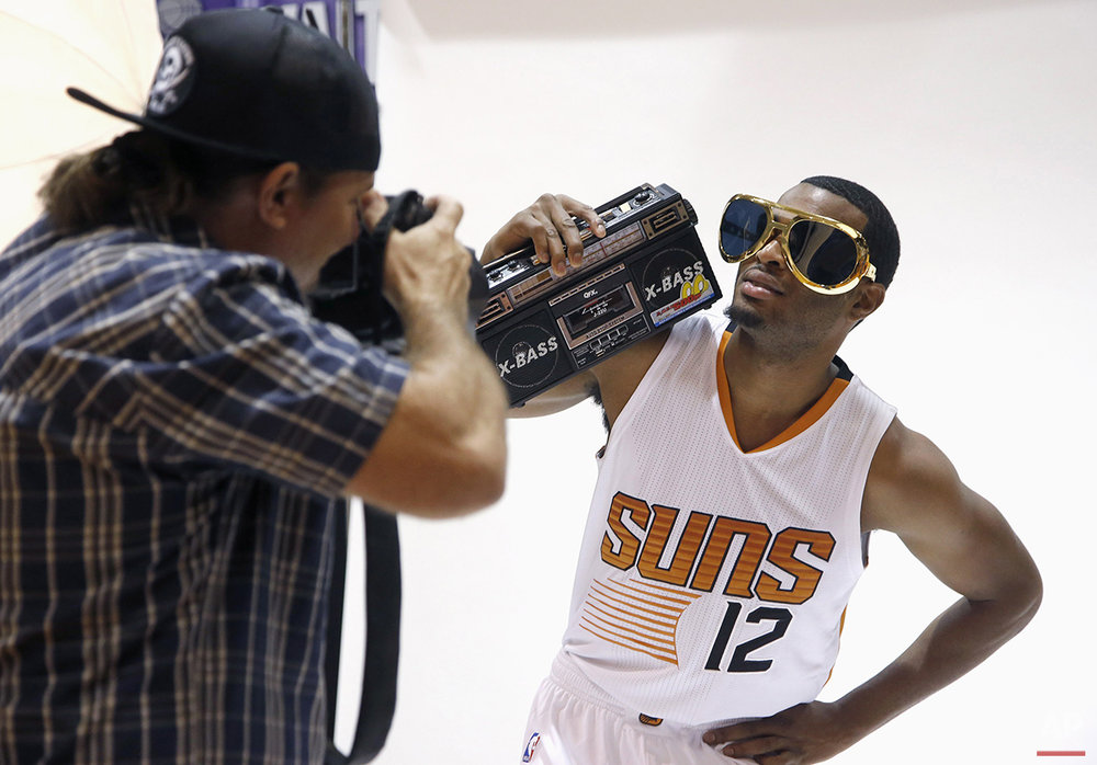 Suns Media Day Basketball