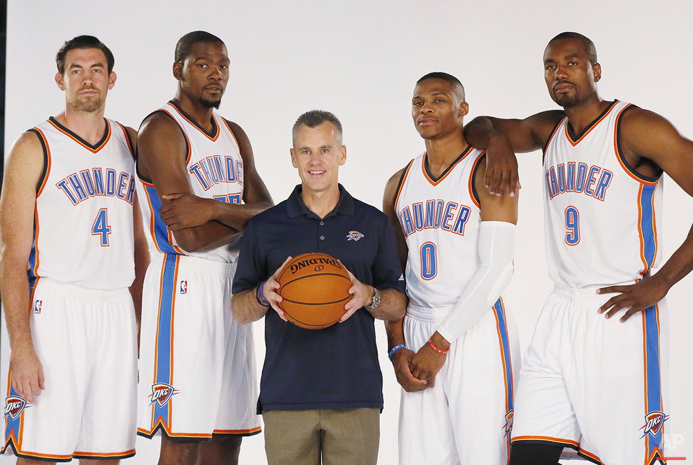 Thunder Media Day Basketball