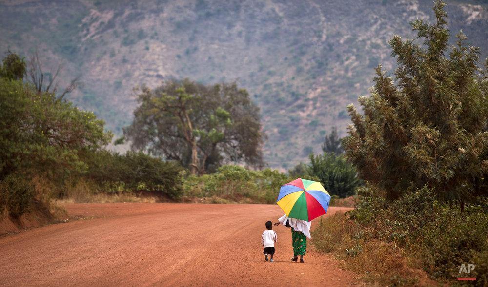 APTOPIX Rwanda Daily Life