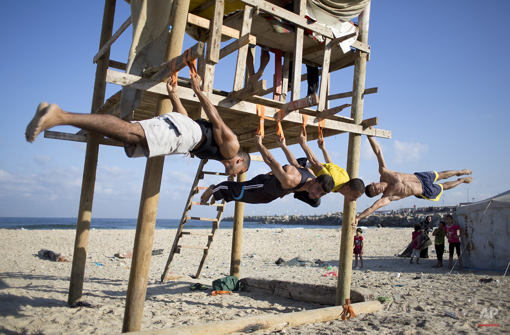 Mideast Palestinian Gaza Extreme Sports Photo Gallery