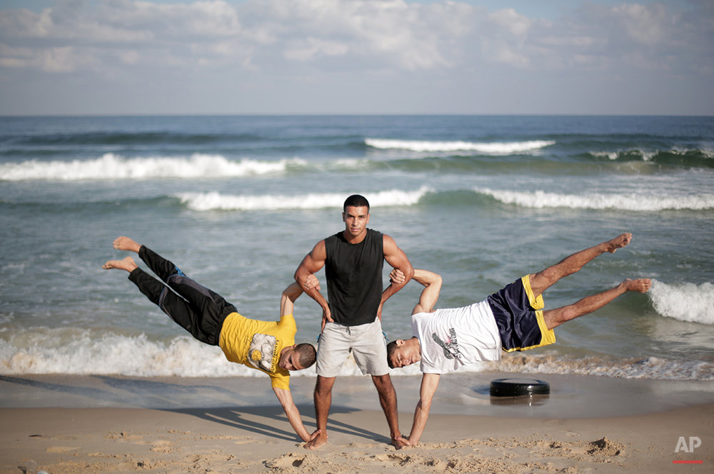 APTOPIX Mideast Palestinian Gaza Extreme Sports Photo Gallery