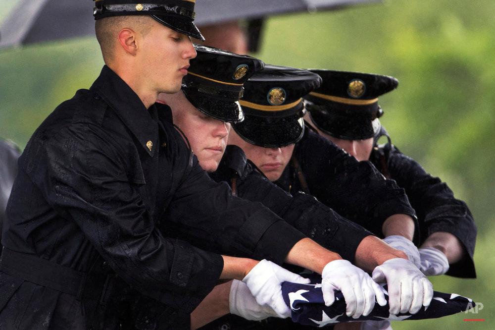 APTOPIX Arlington Burial Korea