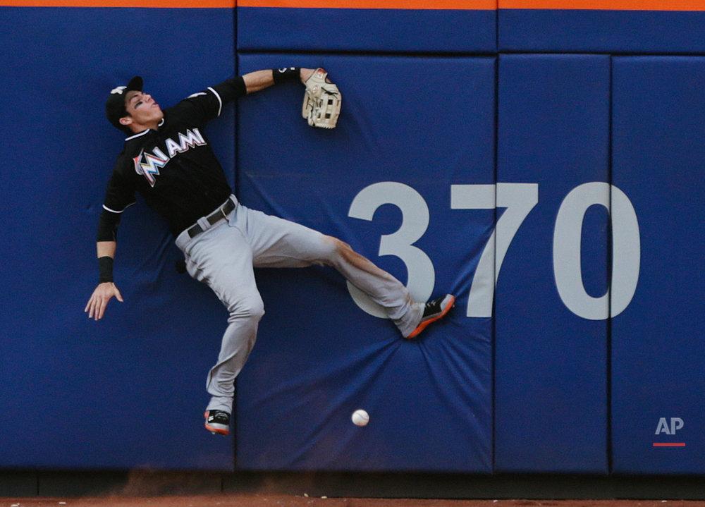 APTOPIX Marlins Mets Baseball