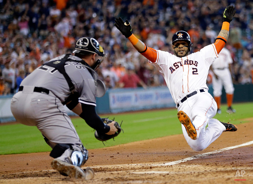 APTOPIX White Sox Astros Baseball