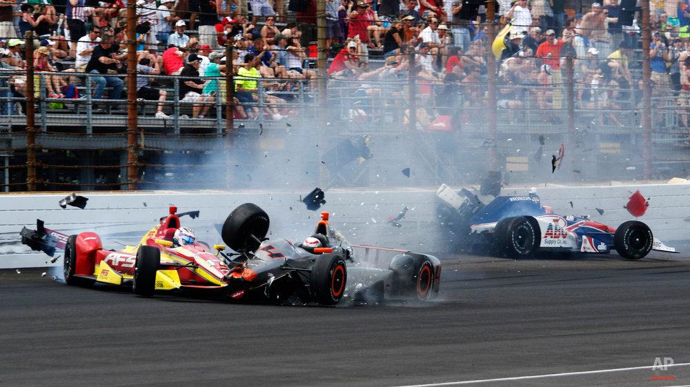 APTOPIX IndyCar Indy 500 Auto Racing